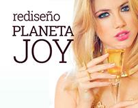 Planeta JOY | Rediseño web