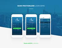 Bank login demo