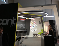 Pontlight stand at the Euroshop exhibition