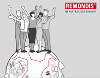 Remondis animated video  - job application process