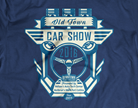 Old Town Car Show T-Shirt Design 2016 - 2017