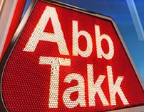 ABB TAKK NEWS (Broadcast Design 2016) OPtion 2