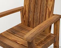 3ds Designs - Tall Adirondack Chair