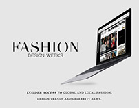 Fashion Design Weeks Website