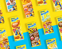 Nesquik | Nutrition Drink Packaging