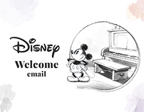 Disney: Welcome Email