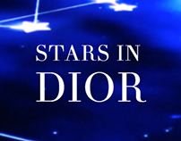 Stars in Dior / Interactive table