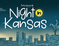 Night in Kansas Font