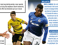 Statistics page for Voetbal International Magazine