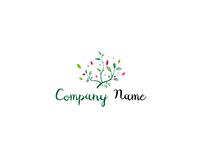 Colorful bush logo