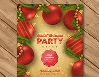 Special Christmas Party Poster   Designed for Freepik