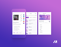 meetfaces - mobile app redesign