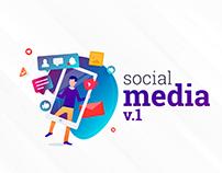 Social Media Designs v.1