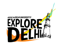 Brand & Logo Design | Explore Delhi, AIESEC in DU