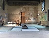 Zen Action Painting Performance, Ferrara 15.10,2016
