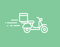 Delivery app UI