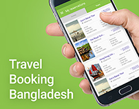 Travel Booking Bangladesh - Website & Mobile App