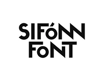 SIFONN Typeface (free weights)