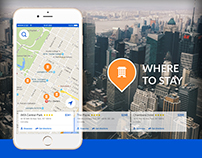 UI/UX Map booking - Get Direction