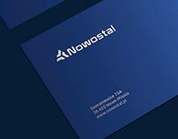 Nowostal / Brand identity