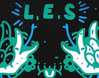 LES - T SHIRT DESIGN