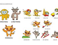2022 Beijing Winter Olympics Mascots