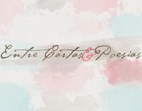 Blog Entre Cartas e Poesias (PSD to Blogspot)