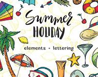 Summer holiday - Vector bundle