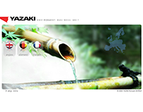Flash landing page - Yazaki