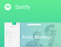 UI Concept #2 - Spotify Redesign