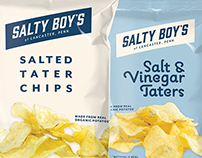 Salty Boy's Tater Chips