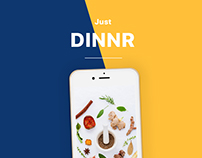 Daily UI Project - Just DINNR Prototype