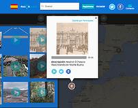 Rediseño web-app Panoraudio