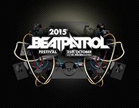 BEATPATROL 2015 - FESTIVAL DESIGN