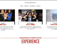 Enve Models - Branding & Website