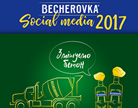 "Social media posts for ""Becherovka"""