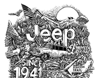 Ilustración para Jeep