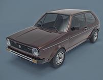 Volkswagen Golf MK1 3D