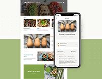 Vegan Food Website