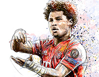 FC Bayern Munich Illustrations II