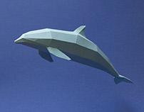 Cetáceos de papel / Paper cetaceans