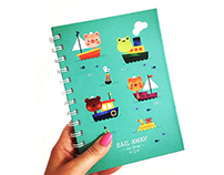 Sail Away | Daily Planner