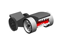 Shark Car toy
