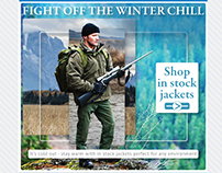 Fight Off The Winter Chill - Email Marketing (Jackets)