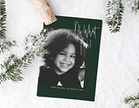 Christmas Card Template - Oh What Fun!