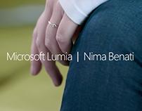 Microsoft Lumia - Milano Fashion Week