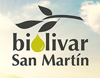 Biolivar San Martín Labels design for packaging