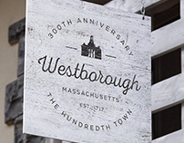 Town of Westborough 300th Anniversary Logo
