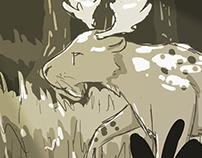 Cheetah/Moose Hybrid - Random Animal Generator