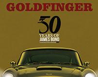 Rediseño de carteles de las películas de James Bond(1)